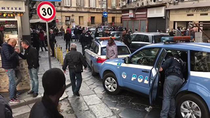sparatoria a Napoli