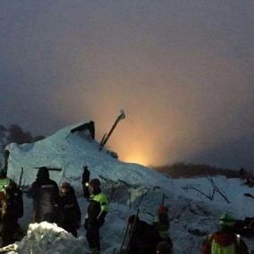 Gentiloni parla della tragedia dell'Hotel Rigopiano