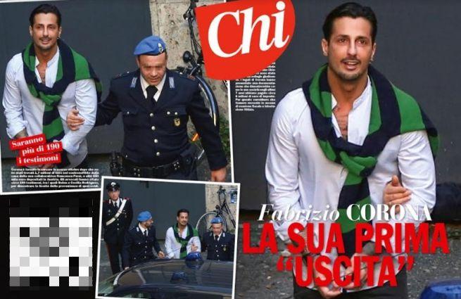 Fabrizio Corona fuori dal carcere dopo 4 mesi: «Sono fiducioso»