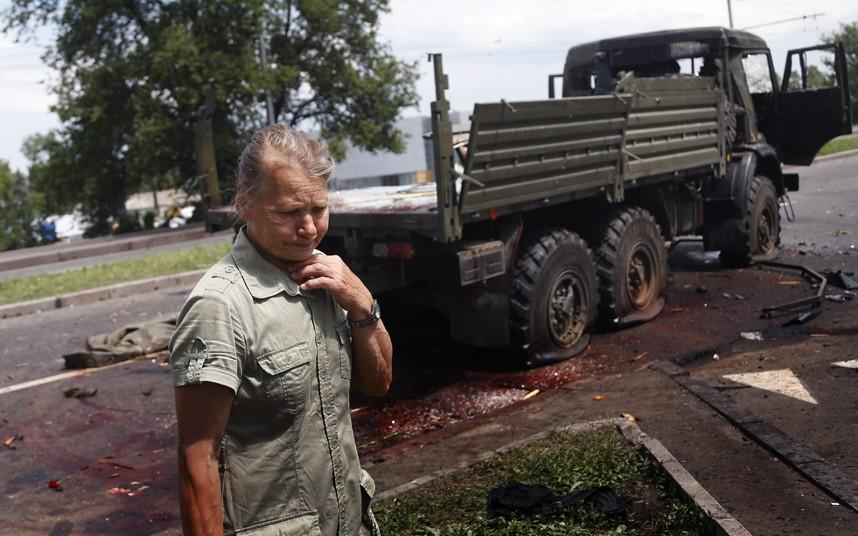 Ucraina: imperversano i combattimenti, cadaveri a Donetsk