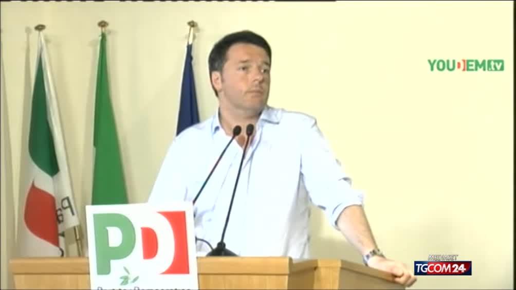 Matteo Renzi sull'Italicum: una bocciatura sarebbe la fine del governo