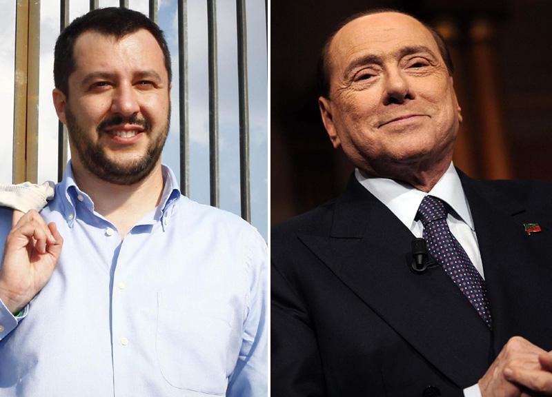 Salvini apre a Berlusconi, 'gli voglio bene'