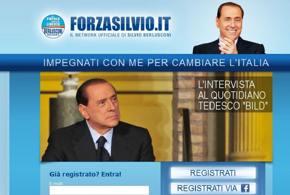 ForzaSilvio.it oscurato per 200.000 euro di debiti