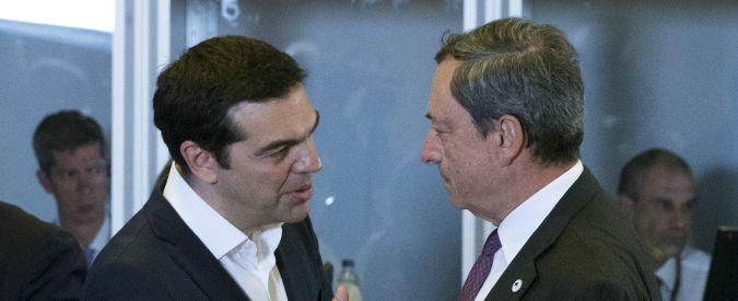 Draghi sposa la linea americana sugli States
