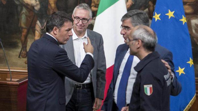 Terremoto, Renzi annuncia misure per la ricostruzione