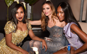 Naomi Campbell, video shock ai Golden Globes